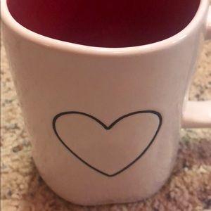 Rae Dunn Other - Rae Dunn Red Heart Mug
